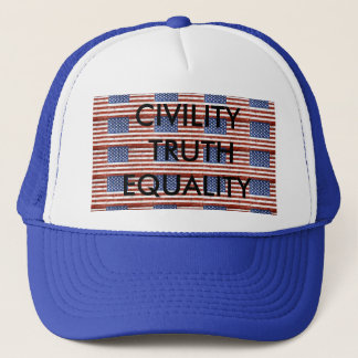 American Flag Hat for Patriot