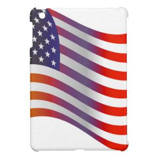 American Flag Illustration iPad Mini Cover