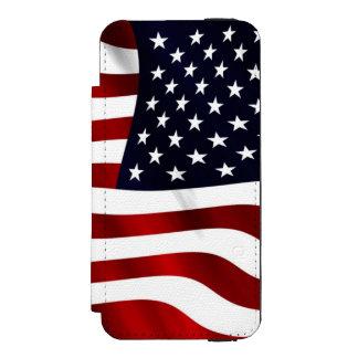 American Flag Incipio Watson™ iPhone 5 Wallet Case