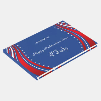 American Flag- Independence Day Guest Book
