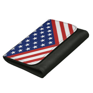 American Flag Inspired Design. Wallets
