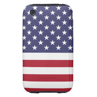 American Flag iPhone 3G/3GS Case-Mate Tough Tough iPhone 3 Case