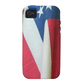 American flag iPhone 4 Case-Mate Tough™ Case