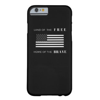 American Flag | iPhone 6/6s Phone Case | Black