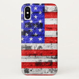American Flag iPhone X Case
