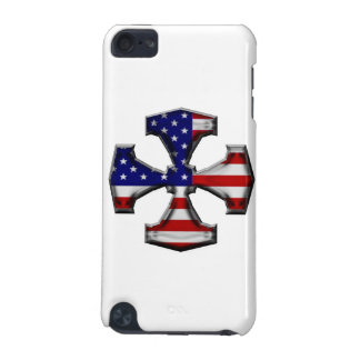 American Flag Iron Cross iPod Touch 5G Cases
