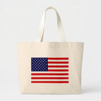 American Flag Items Canvas Bag