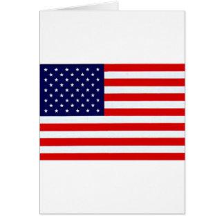 American Flag Items Greeting Card