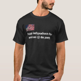 american flag july 4th, Happy independence day ... T-Shirt
