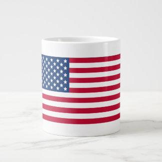 American Flag Jumbo Mug