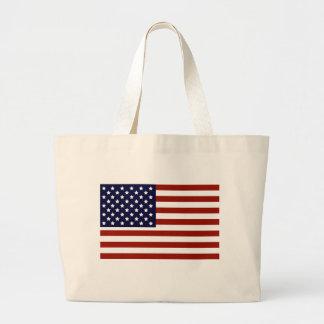 American Flag Jumbo Tote Bag