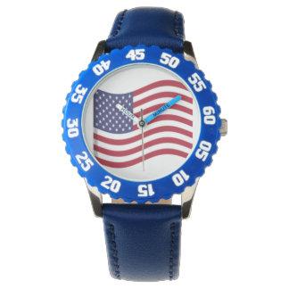 American Flag Kids Watch