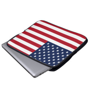 American Flag Laptop Computer Sleeve