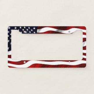 American Flag Licence Plate Frame