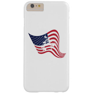 American Flag Love Wrestle Wrestling Barely There iPhone 6 Plus Case