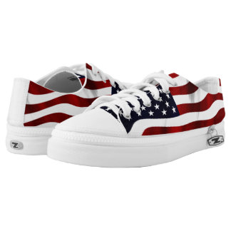 American Flag Low Tops