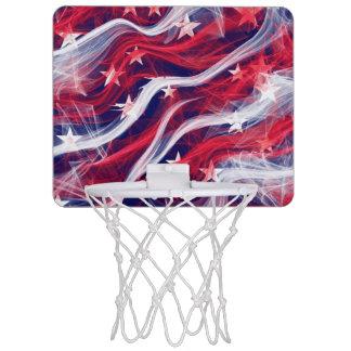 American flag Mini Basketball hoop