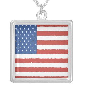 American Flag Pendants
