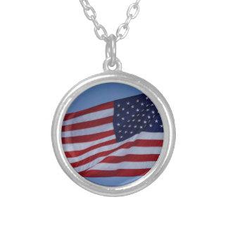 American Flag Custom Necklace