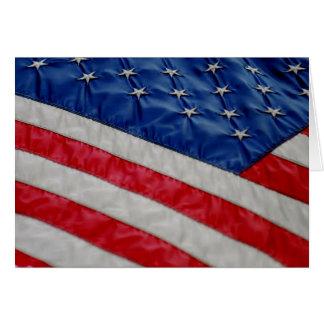 American Flag Notecard Cards