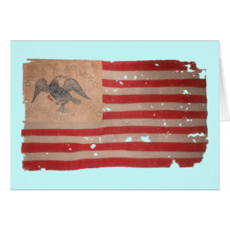 American Flag of the Fremont Expedition Card