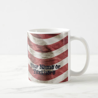 American Flag Old Glory Red, White and Blue Coffee Mug