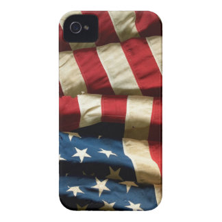 American flag on BlackBerry Bold 9700/9780 Case-Mate iPhone 4 Case