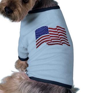 AMERICAN FLAG ONDULATING - BIG SPANGLE BANNER DOG CLOTHES
