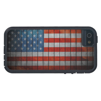 American Flag Painted Fence iPhone 5 Covers