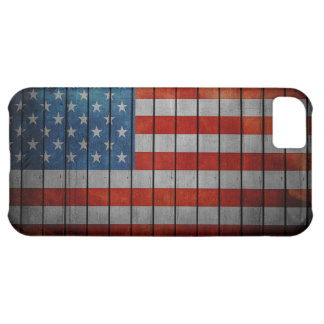 American Flag Painted Fence iPhone 5C Case