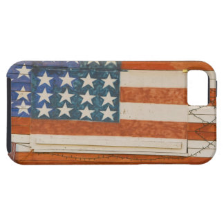 American flag painted onto fireworks stand near tough iPhone 5 case
