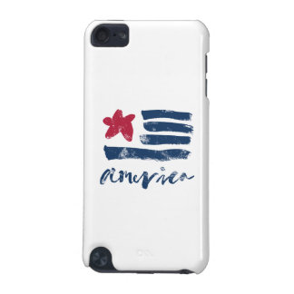 American Flag Paintstrokes iPod Touch 5G Case