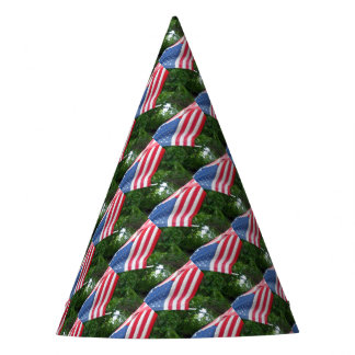 American Flag Party Hat