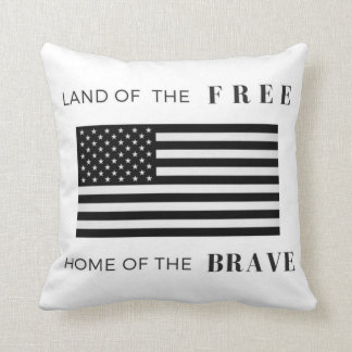 American Flag | Patriotic | 16x16 Throw Pillow