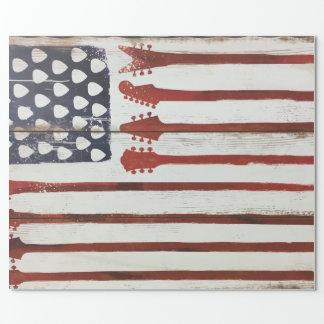 American Flag patriotic Guitar Music theme