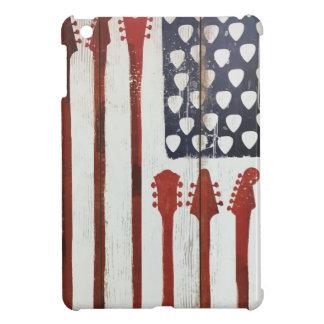 American Flag patriotic Guitar Music theme iPad Mini Cover