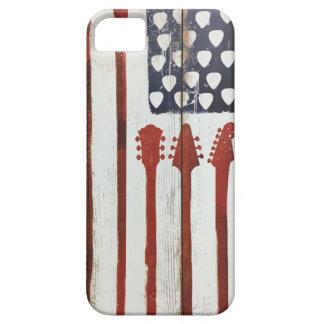 American Flag patriotic Guitar Music theme iPhone 5 Case