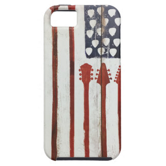 American Flag patriotic Guitar Music theme iPhone 5 Covers