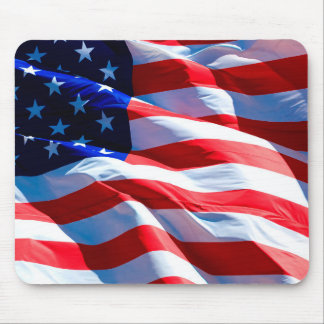 American Flag Patriotic Mouse Pad