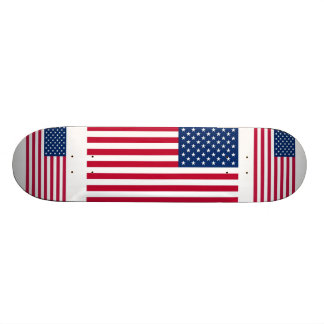 American Flag Patriotic Skateboard