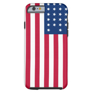 American Flag Patriotic Tough iPhone 6 Case