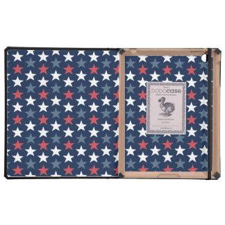 American Flag Pattern iPad Folio Style Case Case For iPad