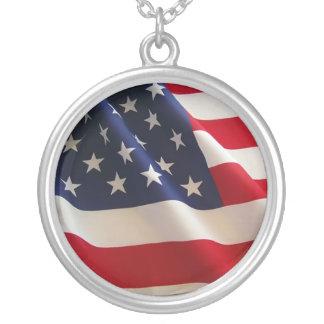 american-flag pendant