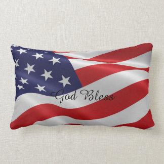American flag pillow cushion
