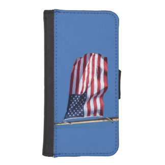 American Flag iPhone 5 Wallet Case
