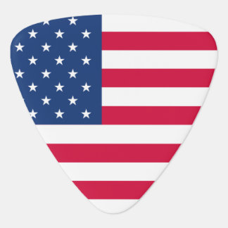 American Flag Plectrum