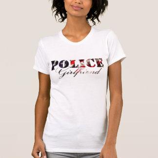 American Flag Police Girlfriend T-Shirt