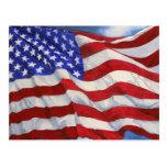 American Flag ~ Postcard