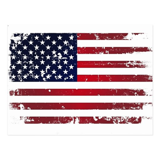 American Flag Postcards