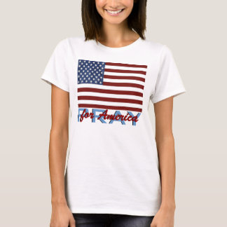 American Flag Pray For America Shirts